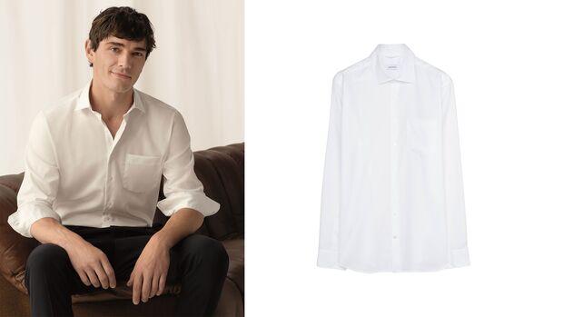 Weißes Hemd von Seidensticker
