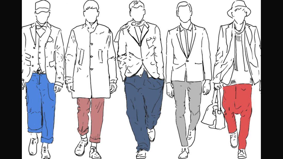 Welche Hose passt zu zu welcher Figur?