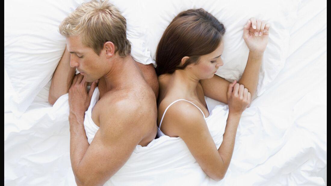 Wenn Beziehungsprobleme zu Sex-Frust führen...