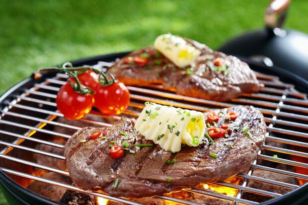 Wenn Sie wirklich noch hungrig sind, können Sie sich vorstellen, das ganze Steak jetzt zu essen?