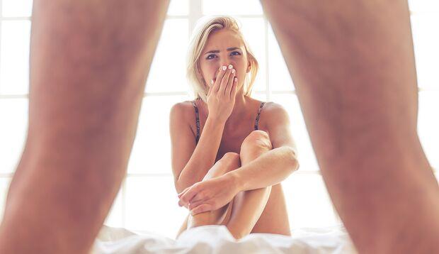 Wenn nackte Tatsachen herrschen, wandert ihr Blick auf den Bauch