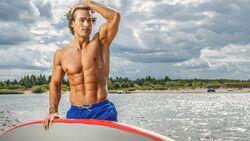 Wer Muskeln hat, sollte diese auch zeigen