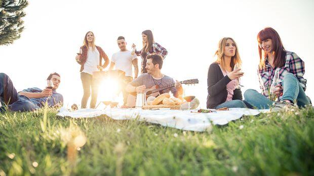 Wer draußen ein Picknick macht oder grillt und erwischt wird, muss 250 Euro zahlen