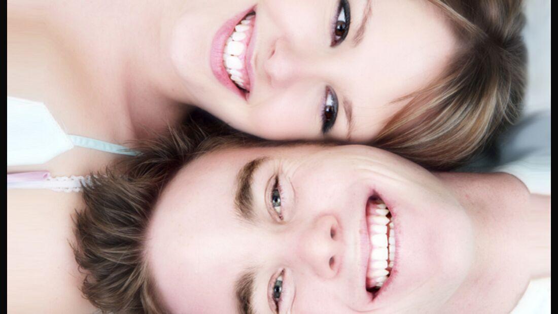 Wer seine Zähne pflegt, lacht schöner