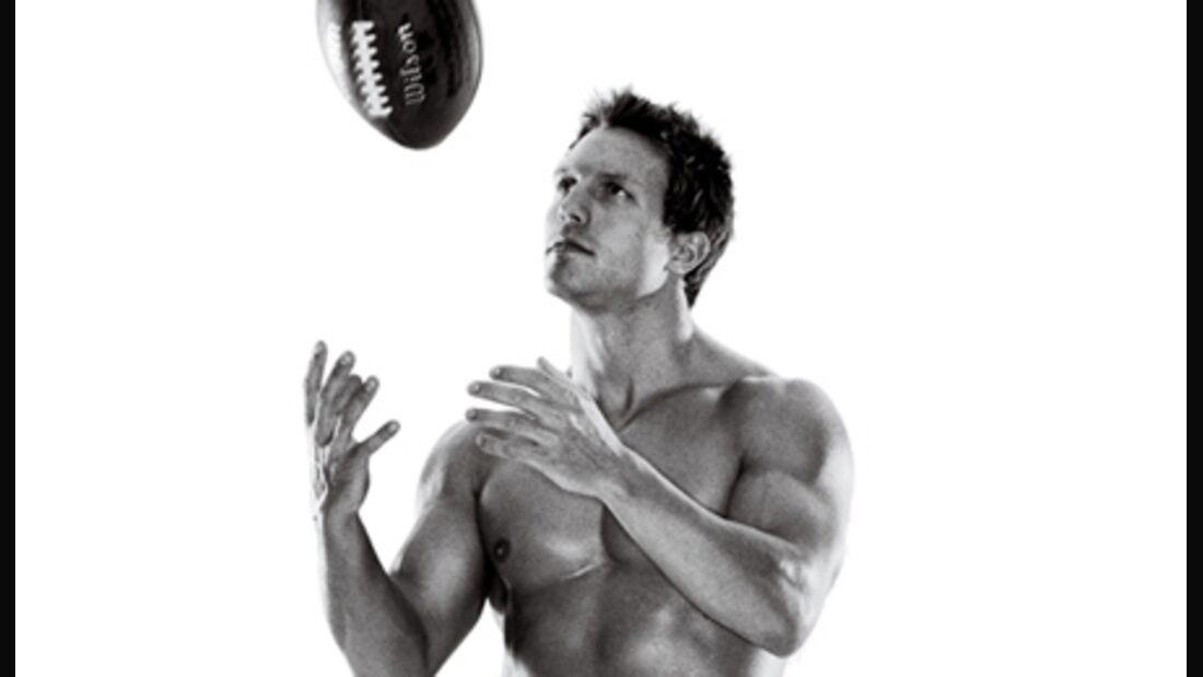 Werden Sie fit wie die Football-Profis