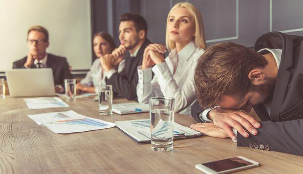 Werden Sie in Ihrem gegenwärtigen Job überhaupt richtig gefordert?