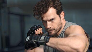 Werden Sie stark wie Superman-Darsteller Henry Cavill