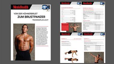 Wiedereinsteiger-Trainingsplan für eine breite Brust als PDF