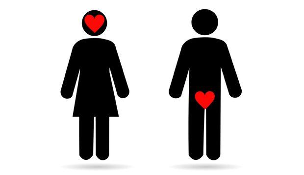 Wieso Männer häufiger an Sex denken, als Frauen.