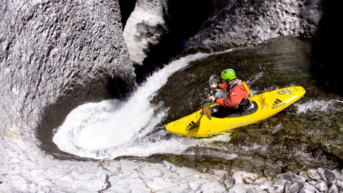 Wildwasser-Kajak fahren: Auf der Suche nach dem Kick im Wildwasser