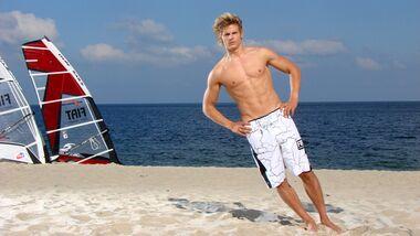 Windsurf-Profi Florian Jung erklärt, wie er sich fit hält