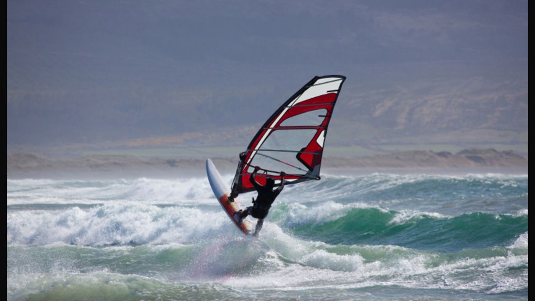 Windsurfen wirddank Philip Köster zum Trendsport