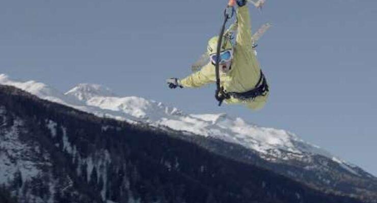 Wintersporttrend Snowkiten mit dem Deutschen Meister Marian Hund