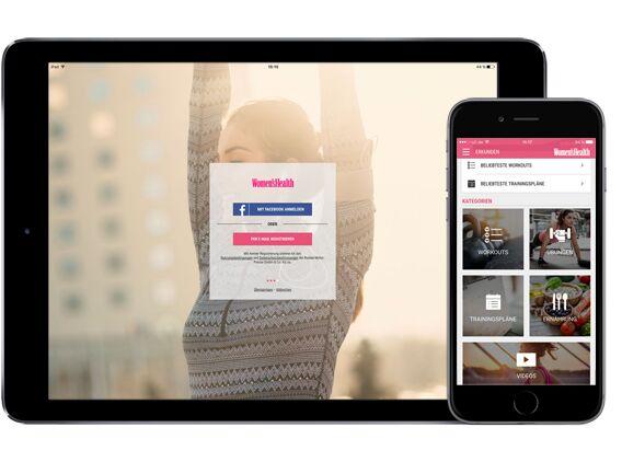 Women's Health Personal Trainer: die perfekte Trainings-App für Ihre Freundin