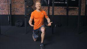 Workout-Video Ausfallschritte nach hinten