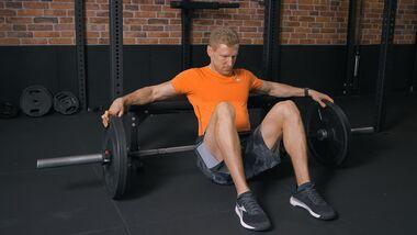 Workout-Video starker Hintern