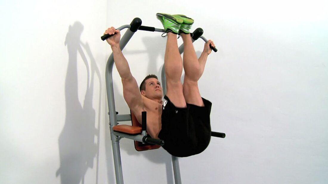 Workout der Woche – Klimmzugstangen-Kracher