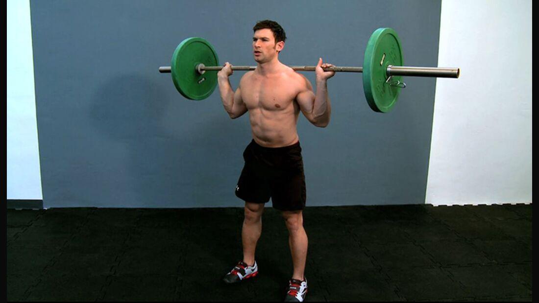 Workout der Woche: Langhantel-Training