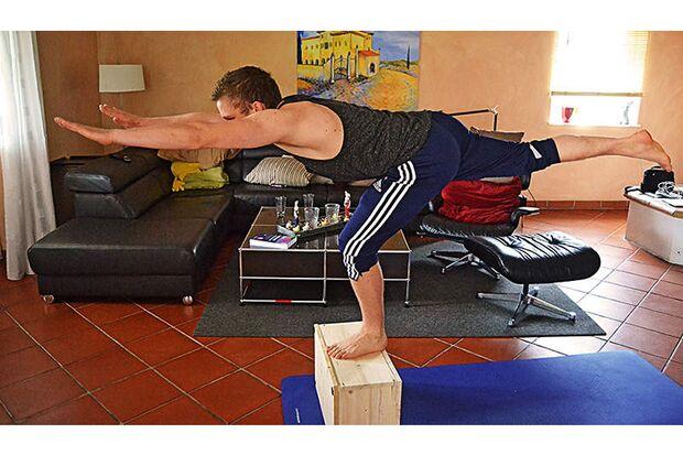 Workout im Wohnzimmer