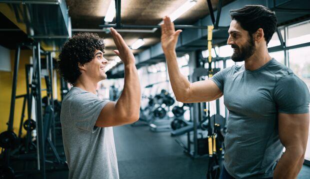 Workout zu zweit: Geteiltes Leid ist halbes Leid