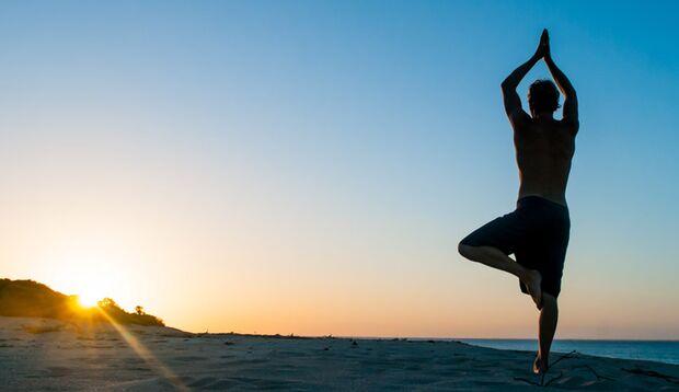 Yoga ist auch bei Männer immer beliebter