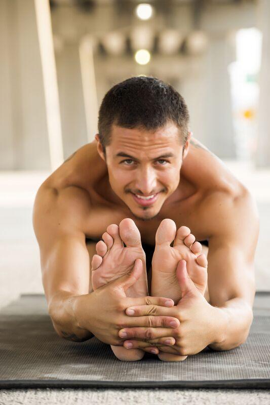 Yoga macht beweglicher