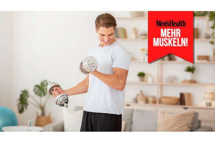 Der perfekte Muskelaufbau-Plan für Anfänger