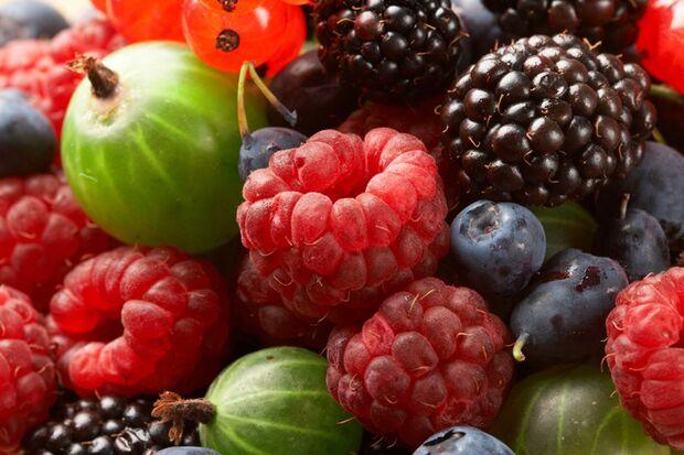 Zu den gesündesten Lebensmitteln für Männer gehören Beeren