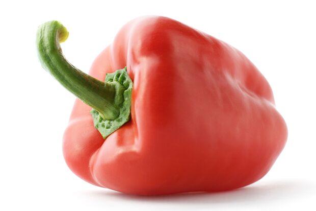 Zu den gesündesten Lebensmitteln für Männer gehört Paprika