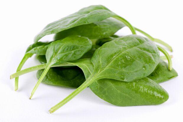 Zu einer gesunden Ernährung gehört auch Spinat dazu