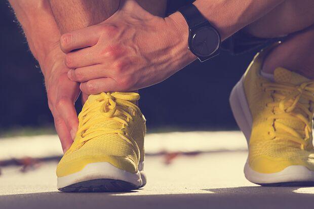 Zu schwache Muskeln begünstigen Fehlbelastungen der Gelenke