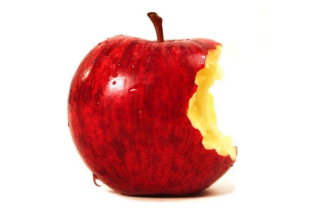 Zur guten Sporternährung gehören Äpfel