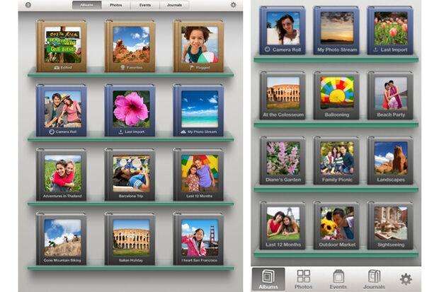 iPhoto ermöglicht tolle Möglichkeite Fotos zu bearbeiten