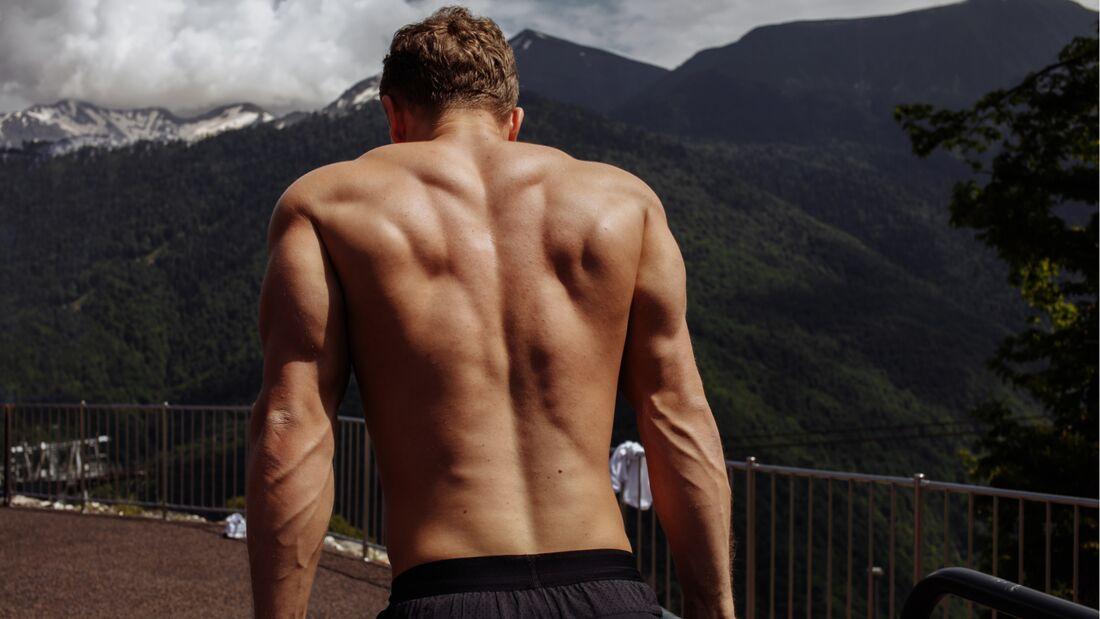 Mann bodybuilding hüfte breite Jeder Mann